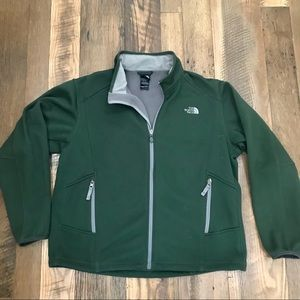 The North Face waffle jacket men XL